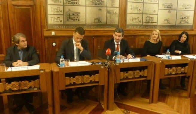 Vladimir Torbica, Valter Flego, Boris Miletić, Jasmina Nina Kamber und Vlatka Kolarević, Foto: Pula.hr