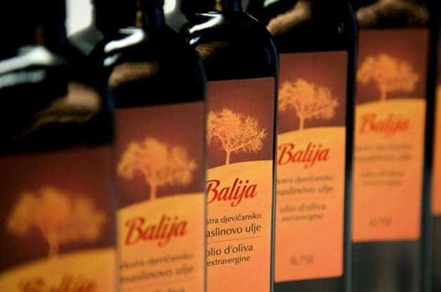 Balija - eines der besten Olivenöle Istriens. Foto: Balija.eu