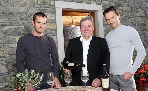 Der Benvenuti Clan. Foto: benvenutivina.com