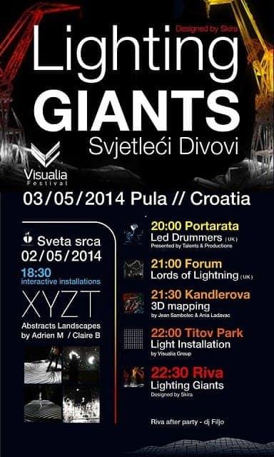 Programm des Visualia Festivals