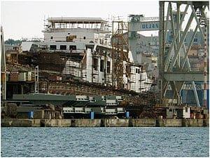 Werft Uljanik - Foto: Enio Pasalic