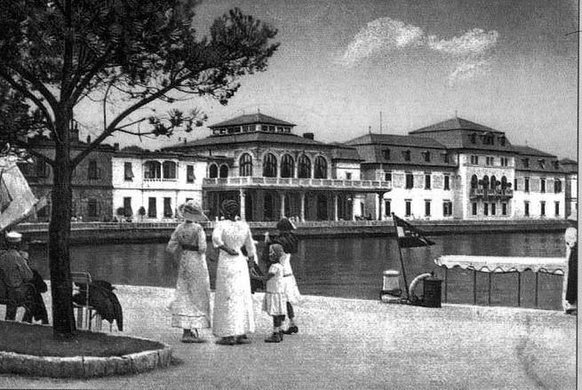 Auf Veli Brijun um 1910. Foto: Wikipedia
