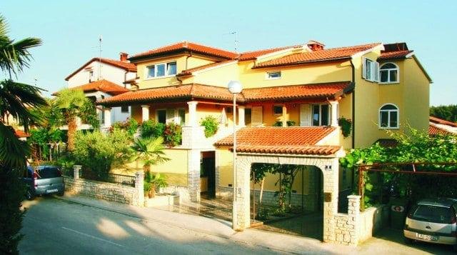 Das Haus der Familie Radovčić in Poreč, Foto: casa-nova-porec.com
