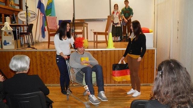 Monika, Vjeko und Mateja werben für Deutsch als Fremdsprache © PASCH-Team Pula