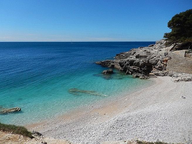 Strande Istrien Karte.Die 10 Schonsten Strande In Istrien Inistrien De