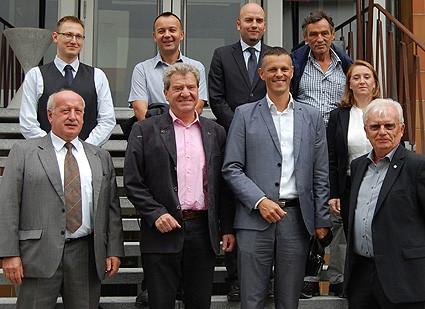 Delegation aus Istrien zu Besuch bei der Hochschule für Technik, Wirtschaft und Gestaltung in Konstanz. Foto: HTWG Konstanz