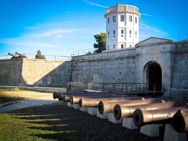 Der Eingang zum Geschichts- und Schifffahrtsmuseum in Pula. Foto: PPMI.hr