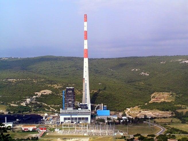 Das Heizkraftwerk Plomin 2 soll um einen Block erweitert werden. Foto: Wikipedia