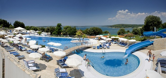 Der Activity Pool des Valamar Club Tamaris in Poreč. Foto: Valamar