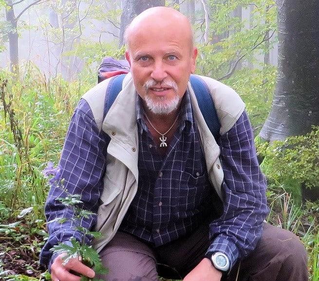 Dr. Walter K. Rottensteiner auf Klek. Foto: W. K. Rottensteiner Facebook
