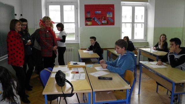 Wettbewerbsteilnehmer aus den Grundschulen – 8.Klasse © PASCH-Team Pula