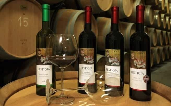 Einige der Weine von Agrolaguna. Foto: Agrolaguna/Istrien7.com