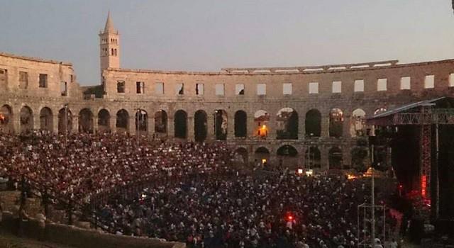 Tolle Kulisse für Konzerte – das Amphitheater in Pula. Foto: Enio Pašalić