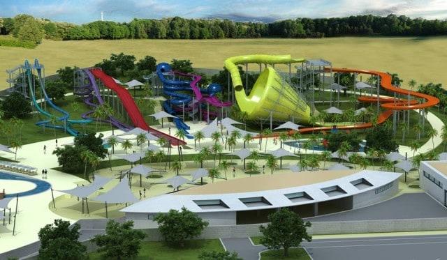 Der Aquacolors Wasserpark. Foto: Facebook