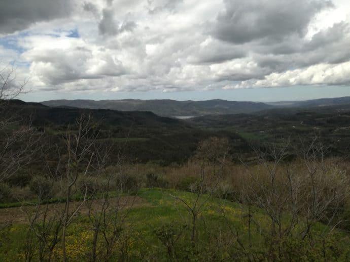 Ausblick auf die Umgebung von Draguc