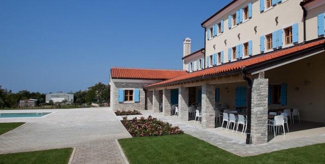 Die Terrasse des Bodulka in Šišan. Foto: Velanera.hr