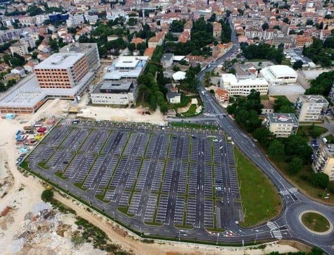 Der Bau des neuen Krankenhauses in Pula, Foto: ids-ddi.com