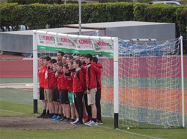 Die U19 des TSV Adelmannsfelden. Foto: InIstrien.hr, Autor: Enio Pašalić