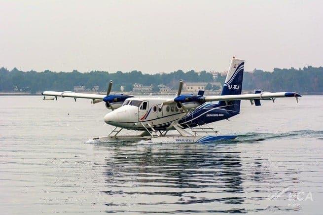 Das Flugzeug bietet Platz für 10 Passagiere. Foto: ECA