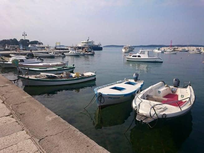 Der Hafen von Fažana. Foto: Enio Pašalić