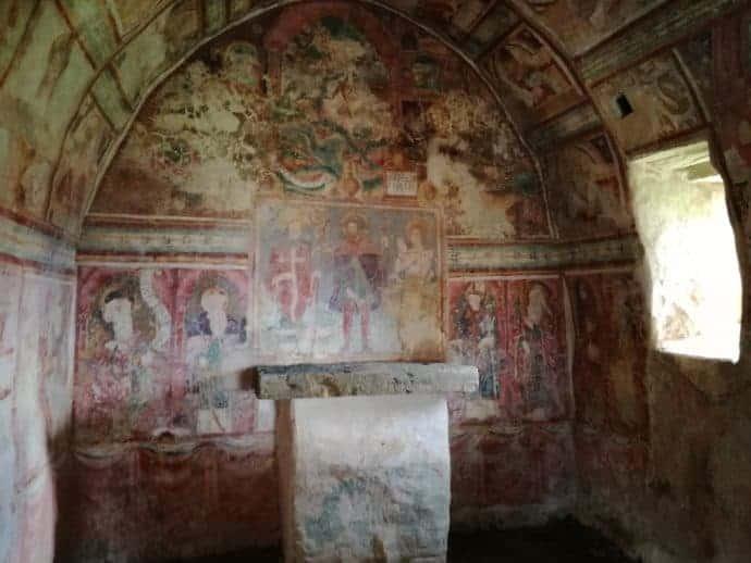Fresken in der Kirche des Hl. Rochus in Draguc