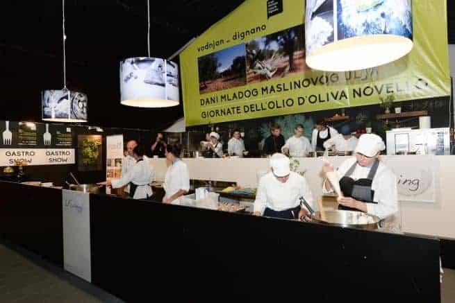 Wei bei den Tagen des jungen Olivenöls nicht dabei sein konnte, kann sich am Sonntag ein Bild vom Gastro-Angebot Istriens machen. Foto: Alphera