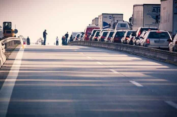 Stau an Grenze zu Kroatien