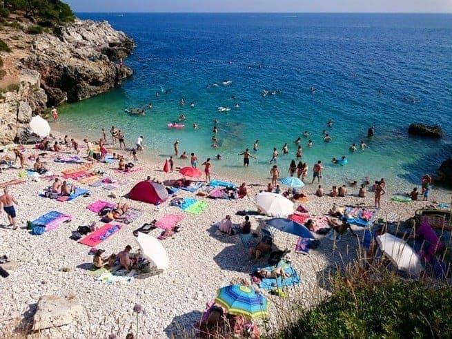 Irgendwann muss man aus dem Wasser. Foto: Enio Pašalić
