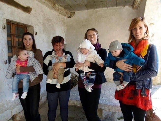 Die stolzen Mütter und ihre Babys. Foto: G. Čalić Šverko, Glas Istre