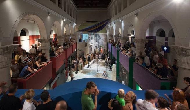 Die Sveta srca (Heilige Herzen) Galerie am Donnerstag. Foto: Facebook
