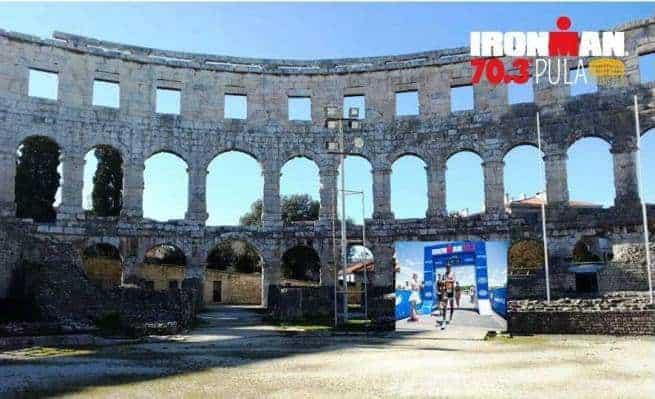 Das Ziel des Rennens wird die Arena des Amhitheaters in Pula sein. Foto: Facebook