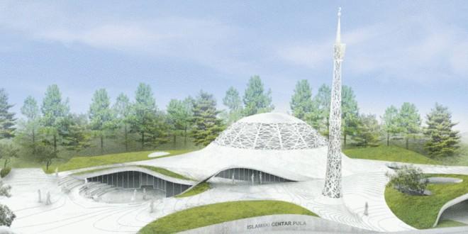 Das geplante Islam Zentrum im Stadtteil Valmade. Foto: Pula.hr