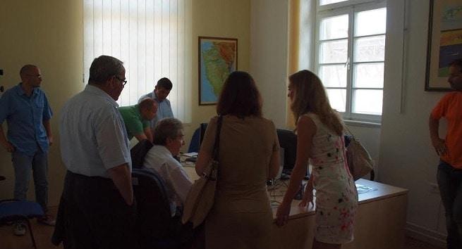 Landrat Frank Hämmerle und Abgeordnete des Landkreises Konstanz bei InIstrien.hr. Foto: Davor Mandić