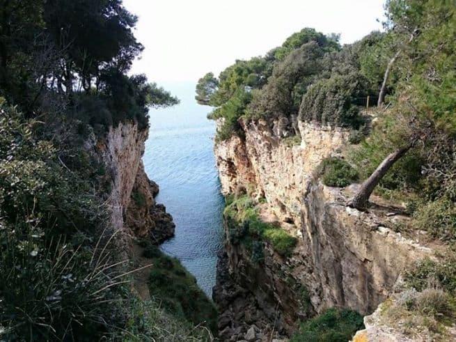 Der Kanion auf Verudela. Foto: Enio Pašalić