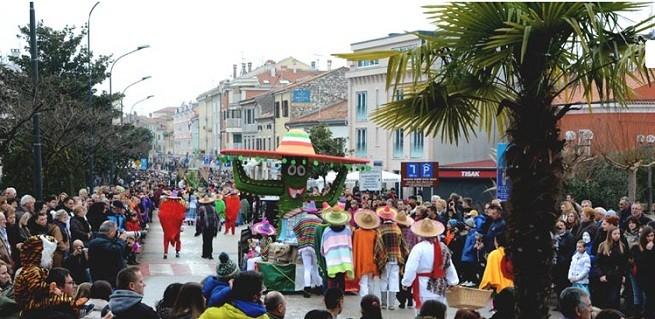 Nochmal ein lustigeres Foto. Karneval in Umag. Foto: Ipress.hr
