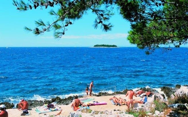 Der Koversada Strand. Foto: Maistra