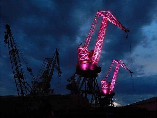 Die Giganten in Pink. Pretty? Foto: InIstrien.hr, Autor: Enio Pašalić