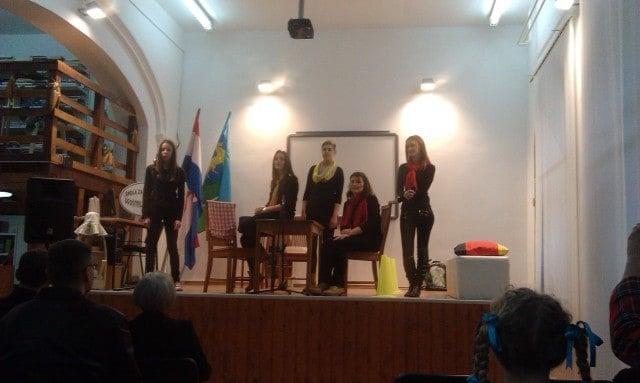 Die Dramagruppe der Schule. Foto: InIstrien.hr