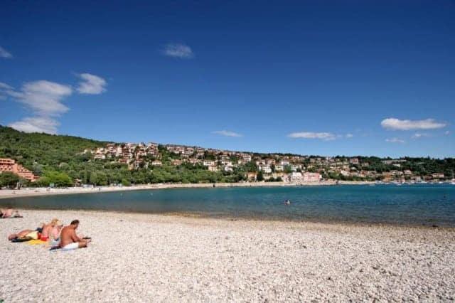 Der Maslinica Strand. Foto: Istra.hr