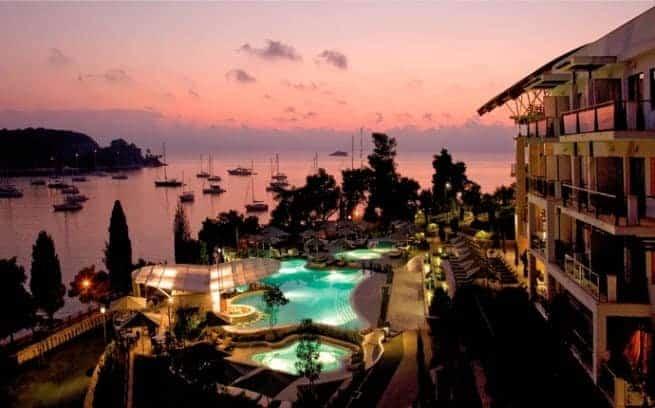 Das Fünf-Sterne-Hotel Monte Mulini von Maistra in Rovinj. Foto: Maistra