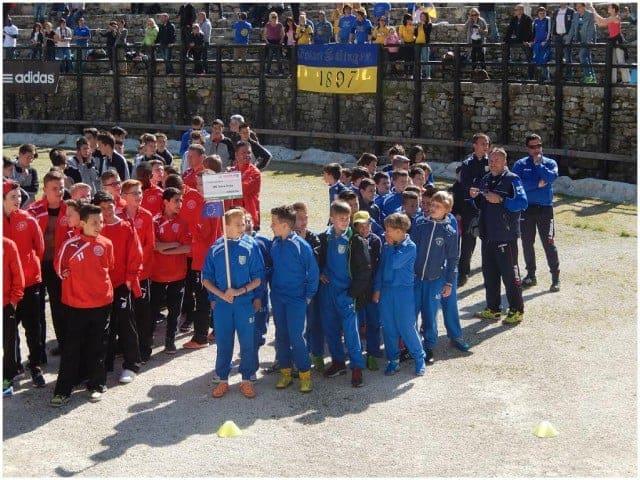 Die Teams lernten sich heute in der Arena kennen. Foto: InIstrien.hr, Autor: Enio Pašalić