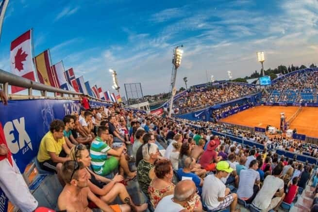 Der Central Court des Stella Maris in Umag. Foto. croatiaopen.hr