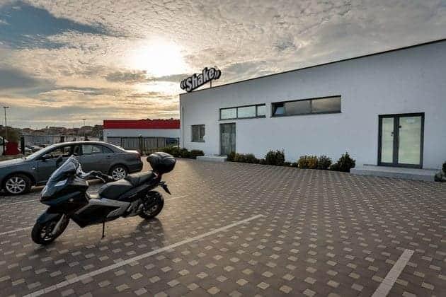 Das Geschäftsgebäude der Prestige GmbH in Pula