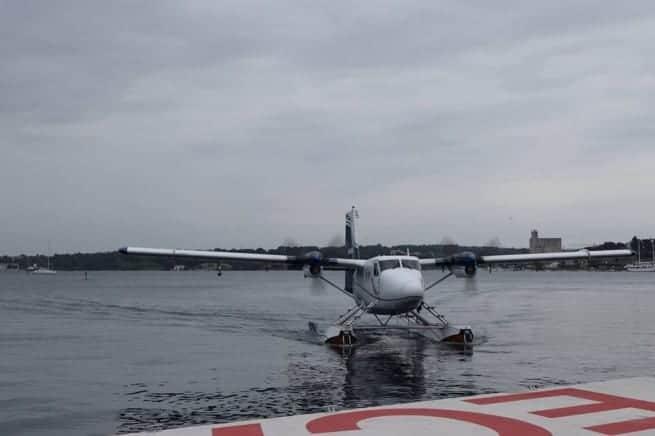 Wasserflugzeuge gehören neuerdings zum Alltag in Pula. Foto: GP Facebook, Autor: Lidija Ivančić
