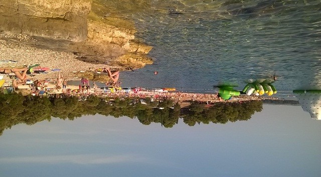 Strand des Brioni Camps/Puntižela. Foto: Lorena Žufić