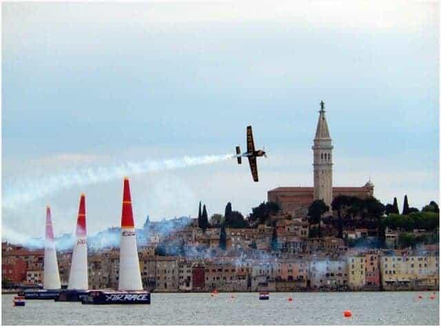 Veranstaltungen wie das Red Bull Air Race in Rovinj, haben auch zum Titel beigetragen. Foto: Enio Pašalić