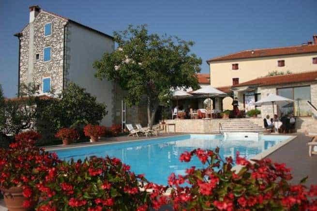 Im Hotel San Rocco in Brtonigla befindet sich auch eines der besten Restaurants der Halbinsel. Es befindet sich in Zentralistrien im Ort Brtonigla. Foto: Sanrocco.hr