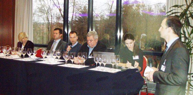 Zvjezdana Blažić, Edi Maletić, Nikola Benvenuti, Franko Lukež, Irina Ban und Saša Špiranec bei der Konferenz. Foto: Facebook