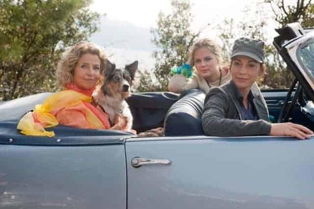 Drei Generationen der Novaks auf dem Weg nach Istrien. Foto: ARD