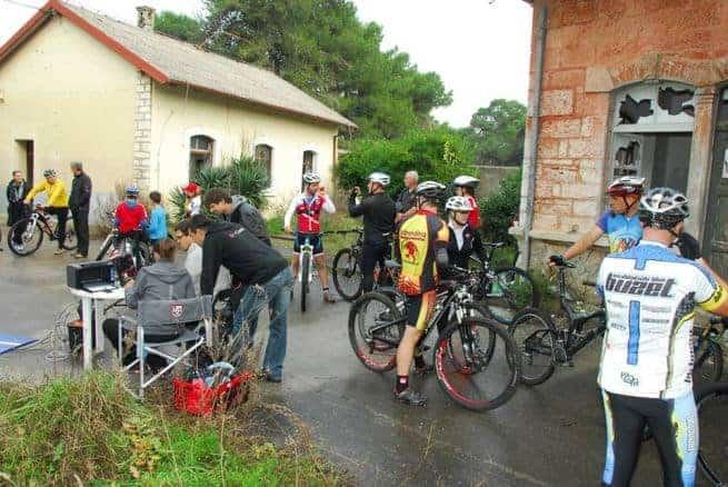 Mountainbiker entdecken Vallelunga für sich. Foto: Mario Belušić